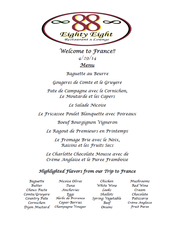 Rotary French Show Dinner