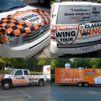 Classic Wings - vehicle wraps