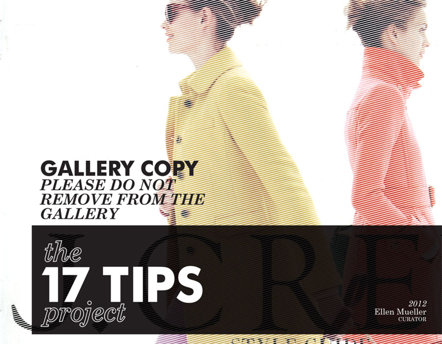 17 Tips Project - catalog cover