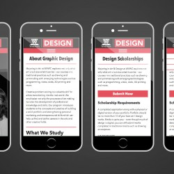 Creative Arts - website - mobile