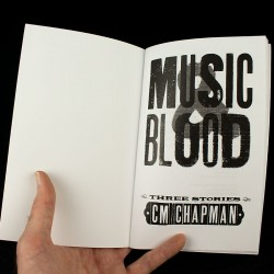 Music and Blood - title page