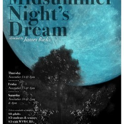 Midsummer Night's Dream - poster