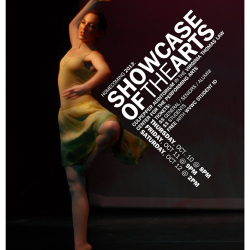Showcase of the Arts poster
