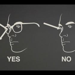 Practical Preparedness - wear glasses