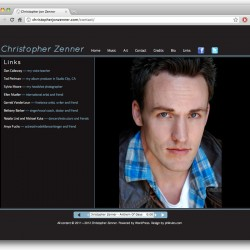 Web - Chris Zenner - links