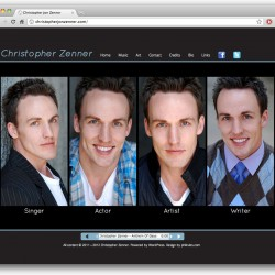 Web - Chris Zenner - home